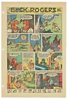 Vintage Buck Rogers #119 1952  Sunday Comic