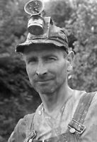 "1935-1942 Miner Vintage Old Photo 13"" x 19"" Reprint"