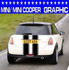 MINI/MINI ONE/MINI COOPER strisce da Cofano Auto Grafica in Vinile/Decalcomanie Adesivi