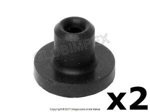 Mercedes Windshield Washer Pump Rubber Grommets URO PARTS NEW (2) + Warranty