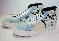 Vans Vault Sk8 Hi Bricolage Lx White/cool Blue/ Parisian Night Limited Edition