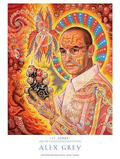 OFFICIAL ALEX GREY Albert Hofmann POSTER print Phish TOOL Grateful Dead LSD DMT