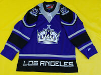 Los Angeles Kings jersey mens Large L Pro Player Third alternate Purple LA NHL