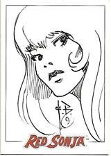 Red Sonja Limited Edition Sketch Card Frank Brunner Dynamic Forces - 2005 VER 1