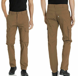 Levis 502 Hybrid Cargo Mens Stretch Pants 32,33,34,36,38 Adjustable/Waist #0005
