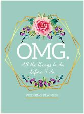 """Tf Publishing - Omg Open Dated 7.5"""" x 10.25"""" Monthly Wedding Planner"""