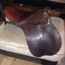 Horse Saddle Leather  And Stand