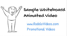 High Quality WhiteBoard Animated Promotional Advertising Promotional 40sec Video