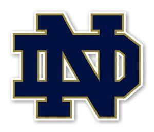 Notre Dame Fighting Irish (ND) Precision Cut Decal