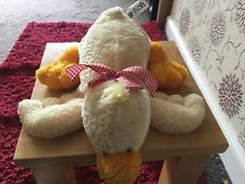 Mary Meyer Flip Flops Dewy Relaxed Duck Plush Rare
