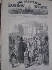 Czar Alexander II of Russia at Ploesti Railway Station Romania 1877 print rf W