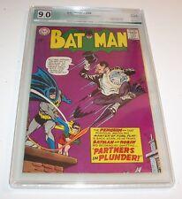 Batman #169 - PGX VF/NM 9.0 - 1965 Key DC Silver Age Issue (2nd S.A. Penguin)
