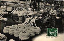 CPA La fabrication du tissu  (190547)