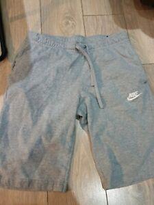 Mens Grey Nike Shorts M