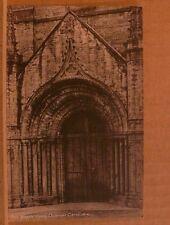Unposted Postcard Durham Cathedral, North Door