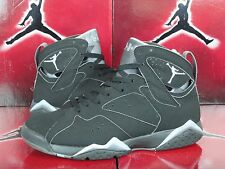 NIKE AIR JORDAN 7 RETRO CHAMBRAY LIGHT GRAPHITE BLACK VII SZ 8 MENS 304775-042