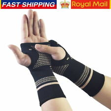 Copper Wrist Brace Hand Support Fit Carpal Tunnel Splint Strap Sprain Arthritis
