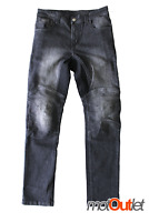 Jeans Moto Kevlar con Protezioni Ginocchia Fianchi Estraibili Scotland STRAUSS
