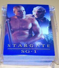 STARGATE SG-1  Season 4 Complete Trading Card Set
