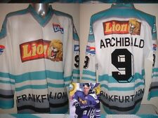 Frankfurt Lions ARCHIBALD XL Ice Hockey Shirt Jersey Trikot NHL Player Eishockey