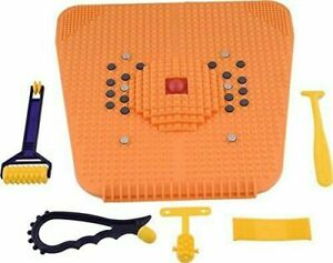 ACUPRESSURE POWER MAT WITH MAGNETS AND PYRAMIDS FOR PAIN RELIEF FOOT MAT - 4000