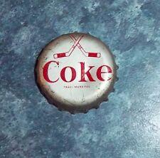Coke Caps Hockey 1964-65 Crossed Sticks Team Chicago Black Hawks