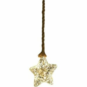 Luxform Battery Operated Hemp Rope Light with Star