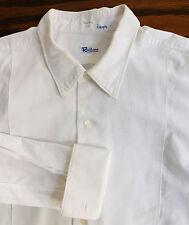 "Vintage 1950s Marcella shirt Rackhams Harrods men's formal dress Collar size 17"""