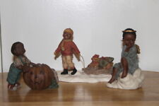 Sarah'S Attic & Martha Holcombe Figurines (3) piece lot 1992 & 1993 African lot