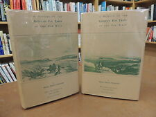 2 Vol Set: A History Of American Fur Trade Of The Far West Hardcover Chittenden