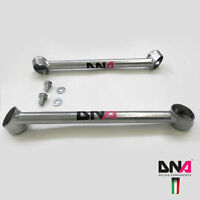 DNA Racing Front Lateral Subframe Tie Rods Kit for Fiat 500 Abarth (EU Spec)