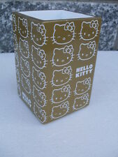 bicchiere gold oro hello kitty tumbler gobelet vaso accessori bagno bathroom hk