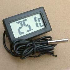 Aquarium Fish Tank Thermometer Water Temperature Gauge LCD Digital Thermometer