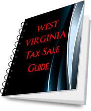 WEST VIRGINIA WV Tax Lien Certificate Tax Sale Guide NEW!