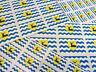 Hertfordshire autocollantes Drapeau étiquettes auto-adhésif Comté Stickers