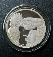 1982 E.T. 1/2 Troy Oz. .999 Fine Silver Universal Studios, One Round Silver Coin