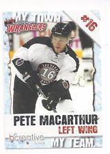 2011-12 Las Vegas Wranglers (ECHL) Peter MacArthur (Allen Americans)