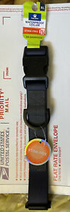 """Top Paw Waterproof Collar New Stink Free Navy Blue Extra Large XL 20-28"""" New NWT"""