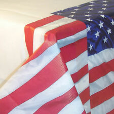 Stars & Stripes USA Paper Tablecover 4th July Party Tablecloth Tableware