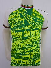 MAGLIA SHIRT CICLISMO FRANCESCO MOSER 22/08/1993 CYCLING ITALY CYCLISM OLD MB282
