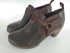 Merrell Evera Rush Brown Leather Bootie Women's Shoes Size 6