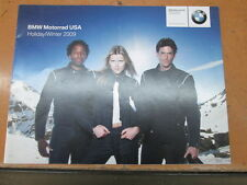 BMW Motorrad USA Factory Holiday Winter 2009 Catalog 15 Pages