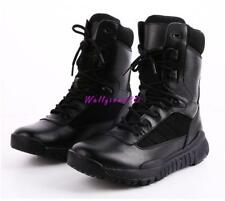 Mens Outdoor Military Tactical Shoes Combat Army Duty Work Climbing Boots New