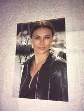 Photo Dedicace Autograph Natacha Lindinger