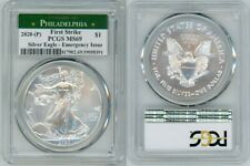 2020 (P) SILVER AMERICAN EAGLE EMERGENCY PCGS MS69 PHILADELPHIA FIRSTSTRIKE 39
