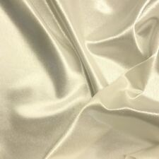 """Crepe Back Satin Bridal Fabric Drapery Soft 60"""" Inches By the Yard Crepeback"""