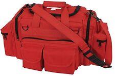 Red EMT Medical Tactical Emergency Trauma Shoulder Bag EMS Medic Bag