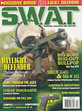 NEW! S.W.A.T. December 2013 Weapons Gun Home Invasion +Free 2014 CALENDAR SEALED