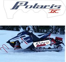 POLARIS RUSH PRO RMK 600 800 PRO R 120 136 SHORT TUNNEL DECAL STICKER retro