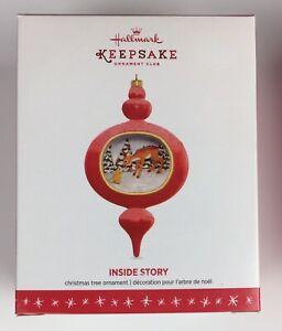 Hallmark Keepsake Ornament In The Inside Story Series 1st Ornament 2016